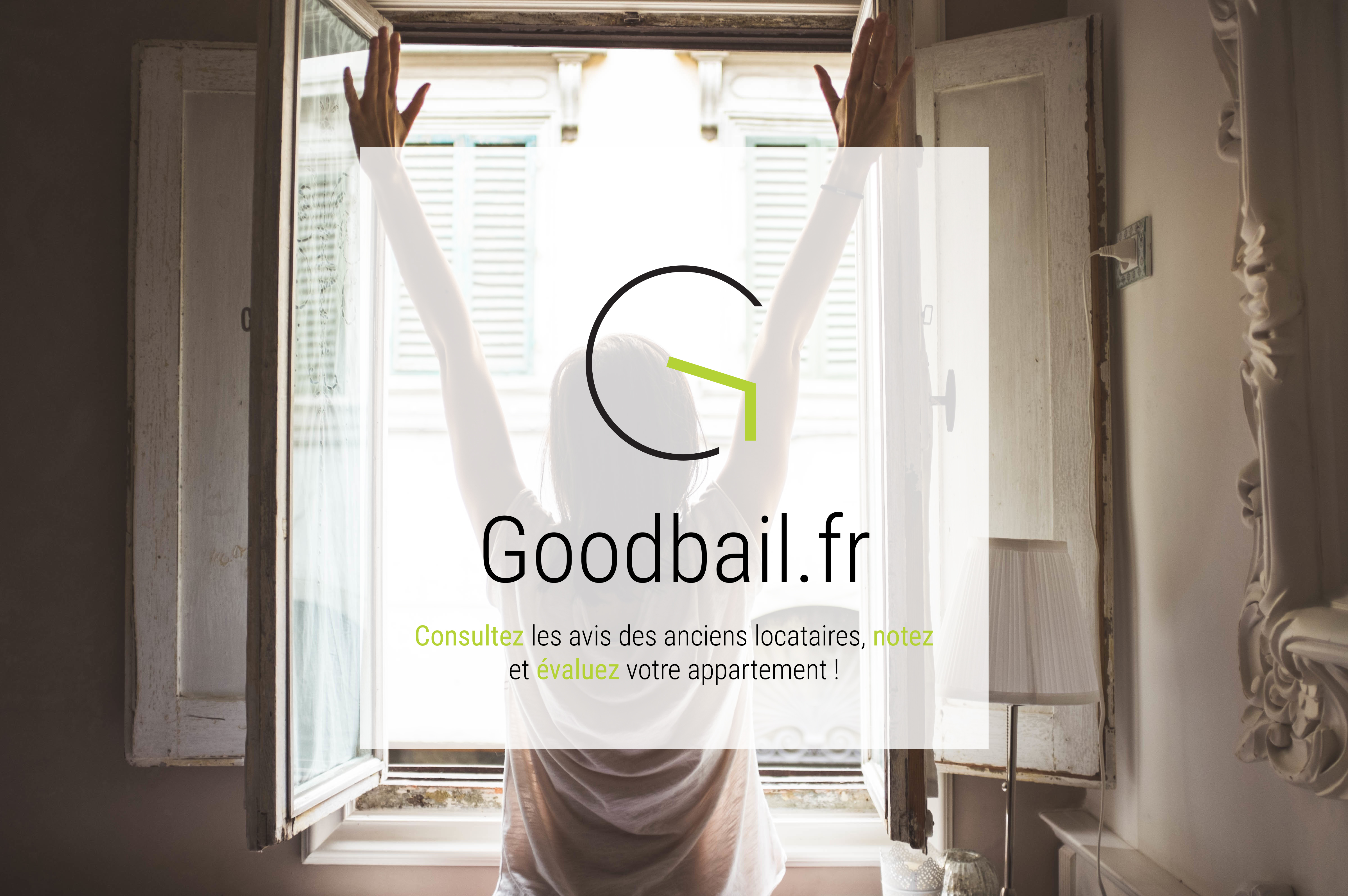 Image de la page d'accueil du site Goodbail.fr