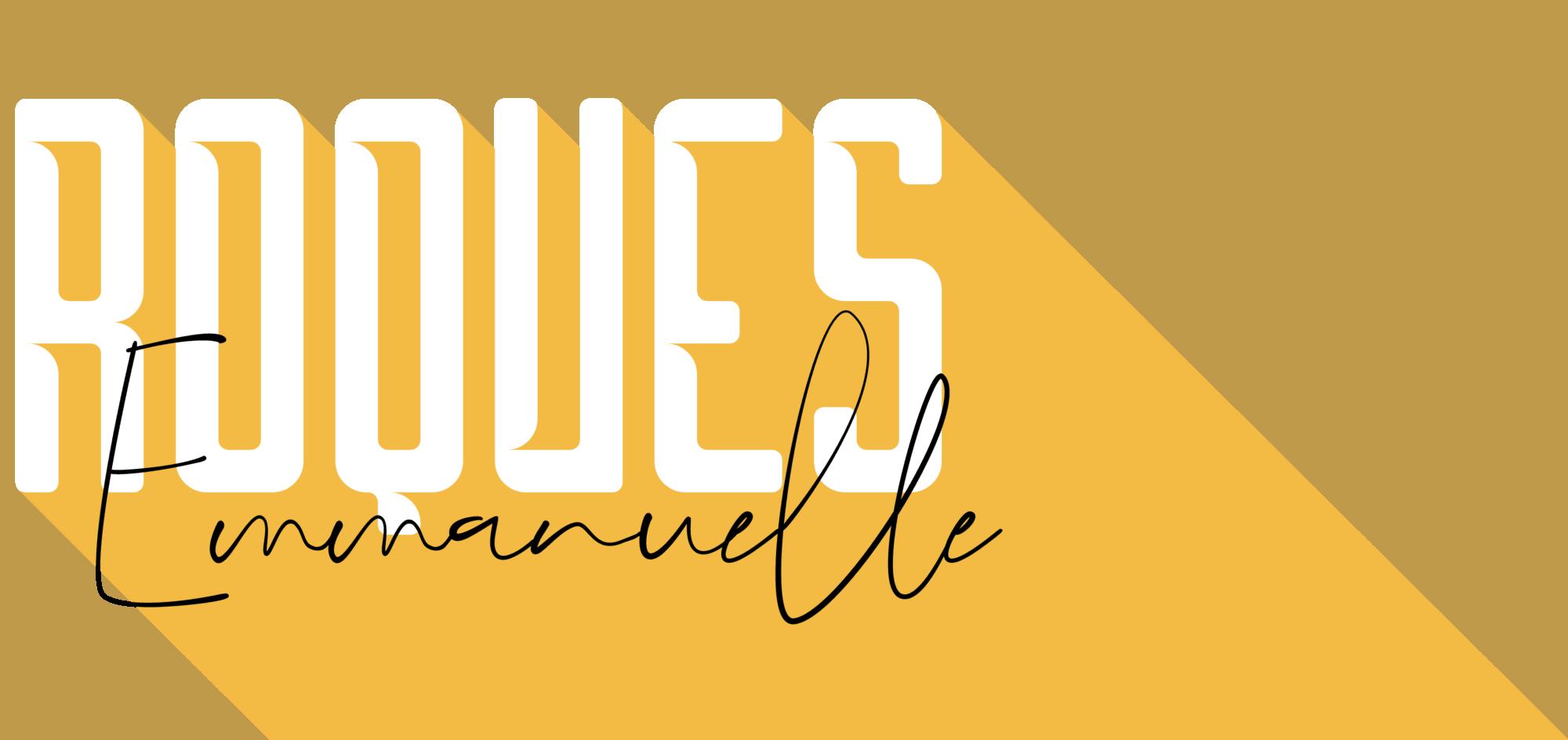 Roques Emmanuelle - Graphiste et web designer freelance