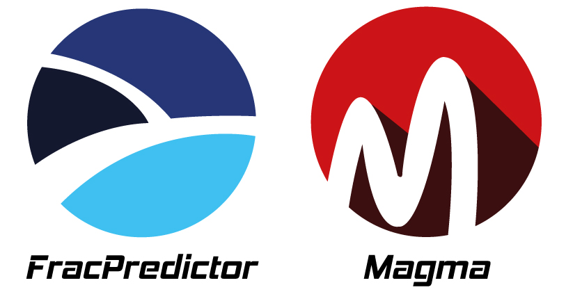 Gogeo logo : FracPredictor et Magma