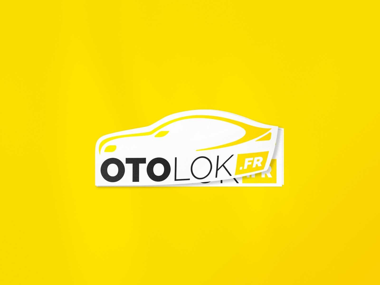 Sticker Otolok